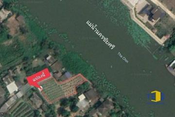 ขายที่ดินติดแม่น้ำนครชัยศรี พท 1 ไร่  93 ตรว. ถมแล้ว กั้นเขื่อนไว้เรียบร้อย  เหมาะสำหรับปลูกบ้านไว้พักผ่อนวัยเกษียณ